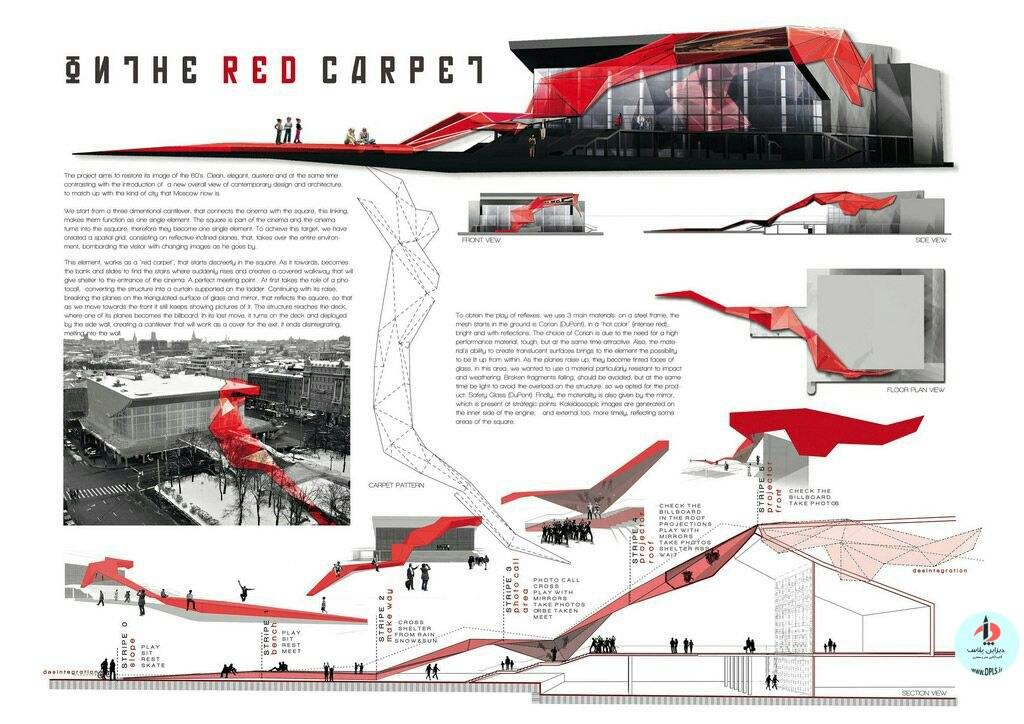 نمونه شیت بندی معماری 14 - حرفه ای ترین شیت بندی های معماری (قسمت اول)