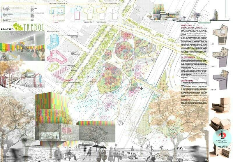 نمونه شیت بندی معماری 20 - حرفه ای ترین شیت بندی های معماری (قسمت دوم)