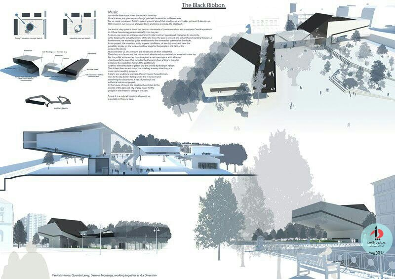 نمونه شیت بندی معماری 23 - حرفه ای ترین شیت بندی های معماری (قسمت اول)