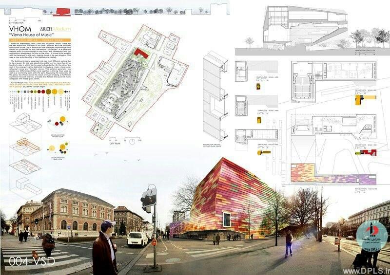 نمونه شیت بندی معماری 25 - حرفه ای ترین شیت بندی های معماری (قسمت دوم)
