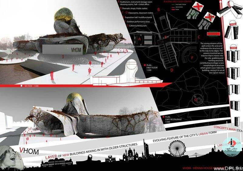 نمونه شیت بندی معماری 27 - حرفه ای ترین شیت بندی های معماری (قسمت دوم)