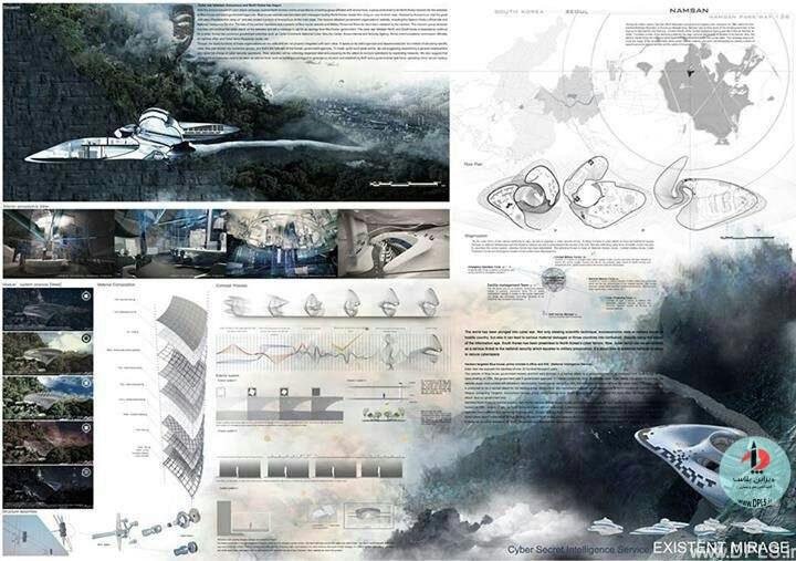 نمونه شیت بندی معماری 28 - حرفه ای ترین شیت بندی های معماری (قسمت دوم)