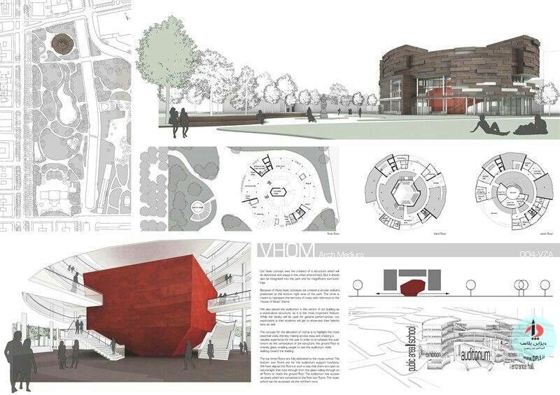 نمونه شیت بندی معماری 37 - حرفه ای ترین شیت بندی های معماری (قسمت دوم)