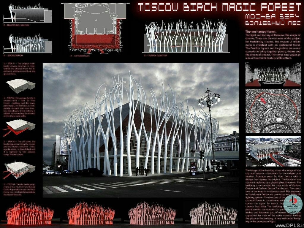 نمونه شیت بندی معماری 40 - حرفه ای ترین شیت بندی های معماری (قسمت دوم)