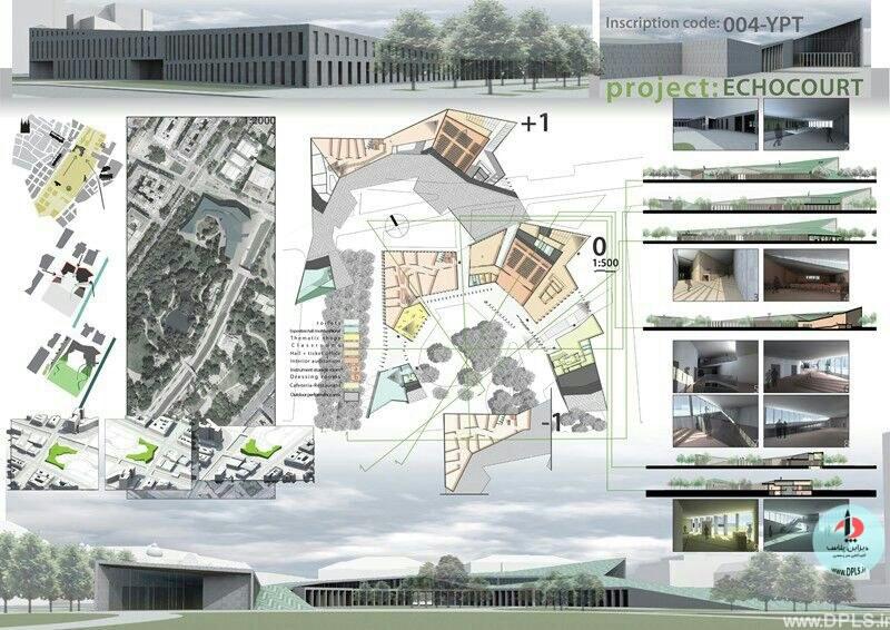 نمونه شیت بندی معماری 45 - حرفه ای ترین شیت بندی های معماری (قسمت دوم)