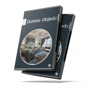 کالکشن صحنه ها و آبجکت های لاکچری Oumoo