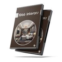 خرید پستی مجموعه صحنه داخلی آماده ۳Ds Max از ۳D66
