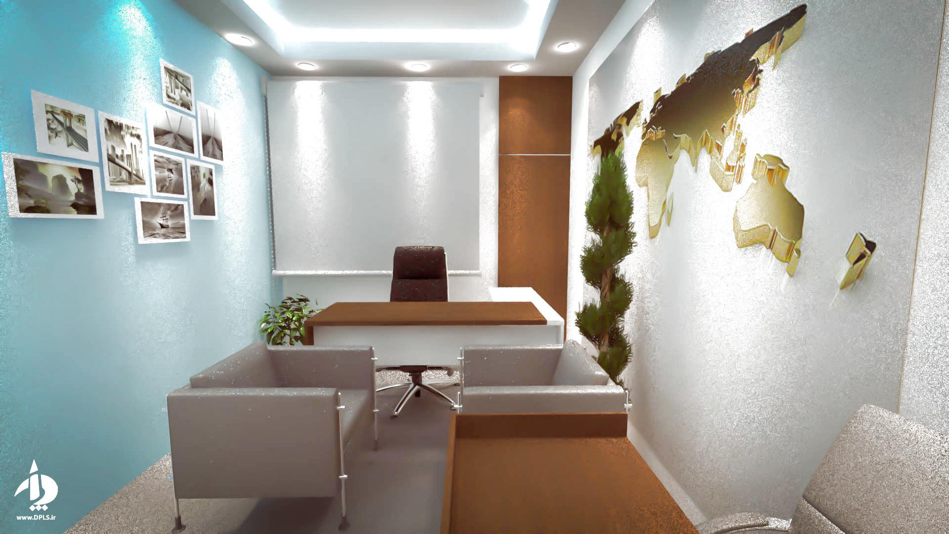 6 - طراحی داخلی شرکت حمل و نقل سما مروارید آسیا