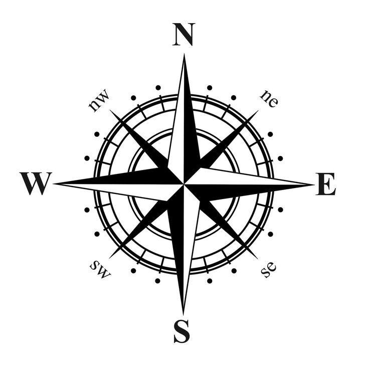 North Element www.dpls .ir 12 - دانلود ۵۰ مدل علامت شمال png برای استفاده در شیت بندی