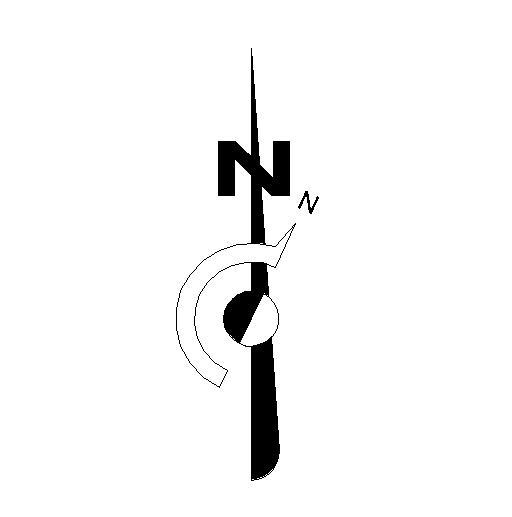 North Element www.dpls .ir 14 - دانلود ۵۰ مدل علامت شمال png برای استفاده در شیت بندی