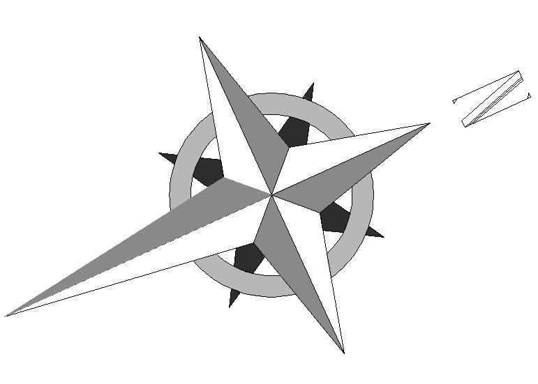 North Element www.dpls .ir 15 - دانلود ۵۰ مدل علامت شمال png برای استفاده در شیت بندی