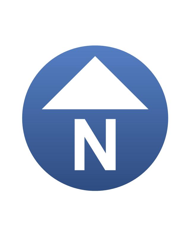 North Element www.dpls .ir 45 - دانلود ۵۰ مدل علامت شمال png برای استفاده در شیت بندی