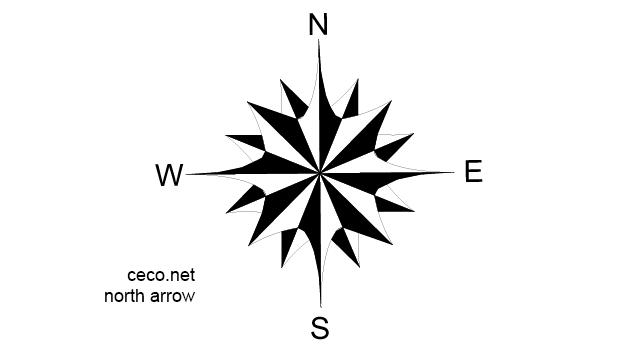 North Element www.dpls .ir 49 - دانلود ۵۰ مدل علامت شمال png برای استفاده در شیت بندی