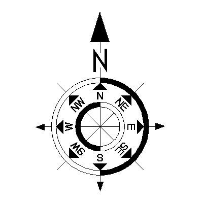 North Element www.dpls .ir 6 - دانلود ۵۰ مدل علامت شمال png برای استفاده در شیت بندی