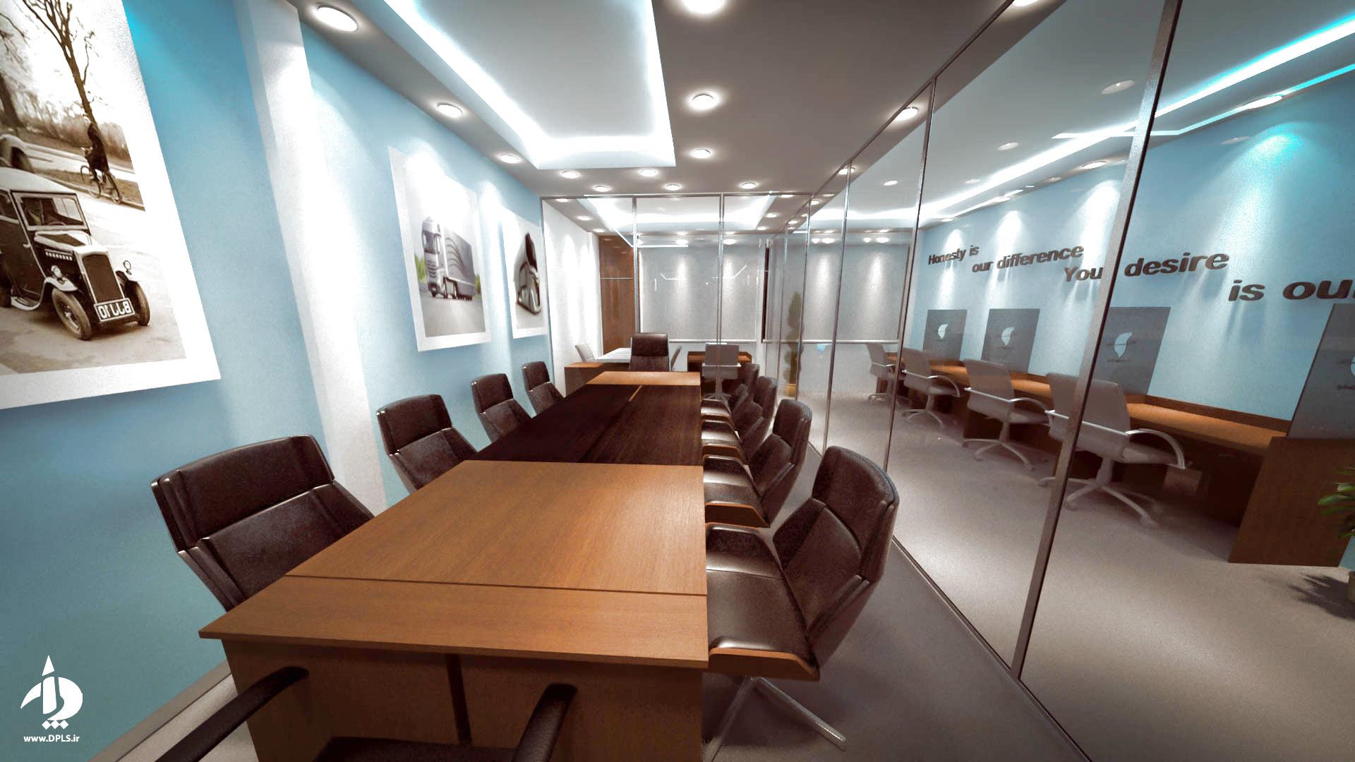 b2 - طراحی داخلی شرکت حمل و نقل سما مروارید آسیا