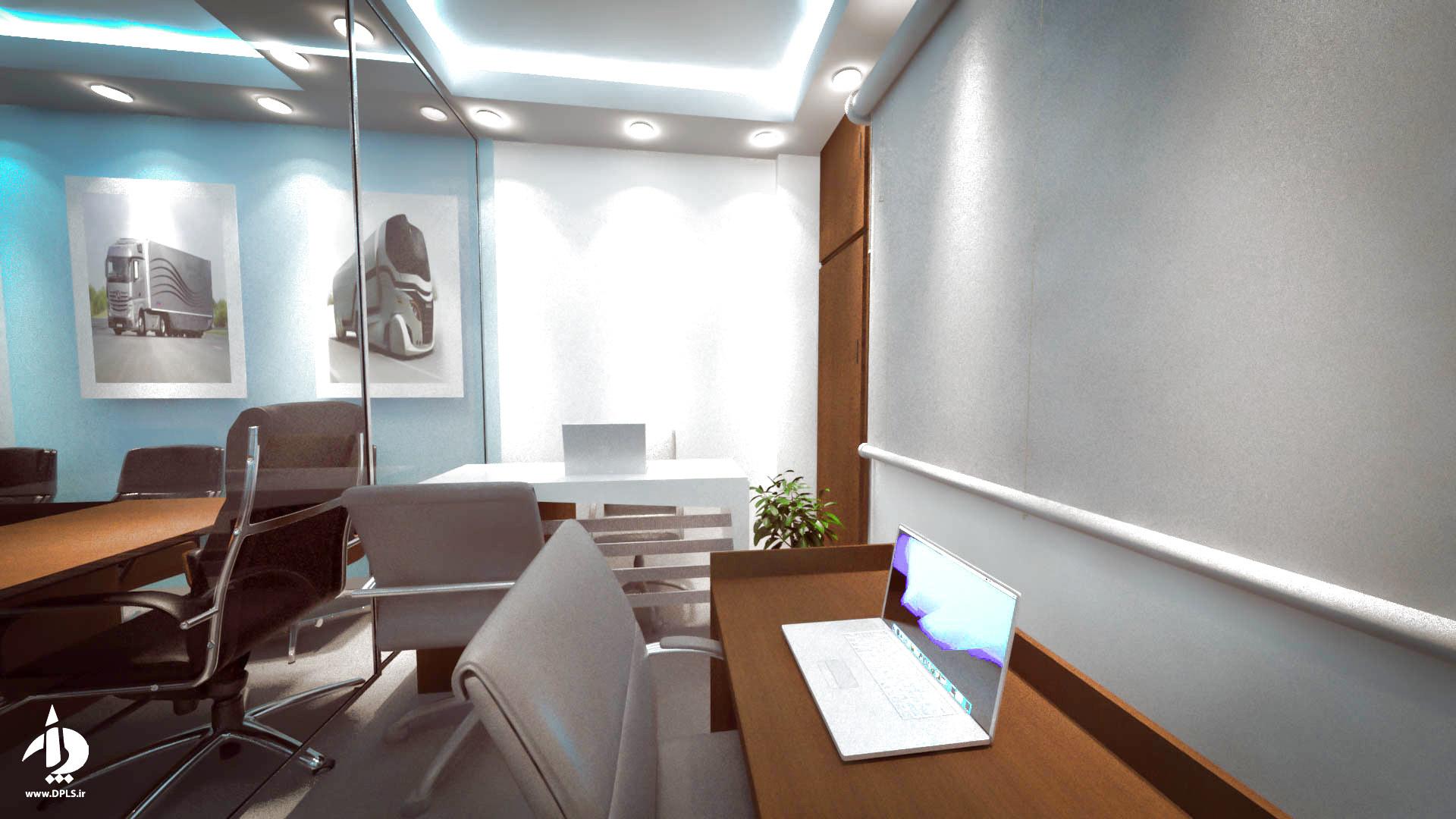 b3 - طراحی داخلی شرکت حمل و نقل سما مروارید آسیا