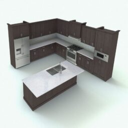 Revit Cabinet Kitchen 255x255 - استودیو هنر و معماری دیزاین پلاس