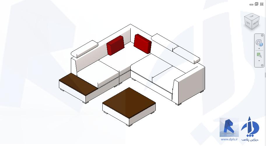 sectional sofa 6482 - رویت